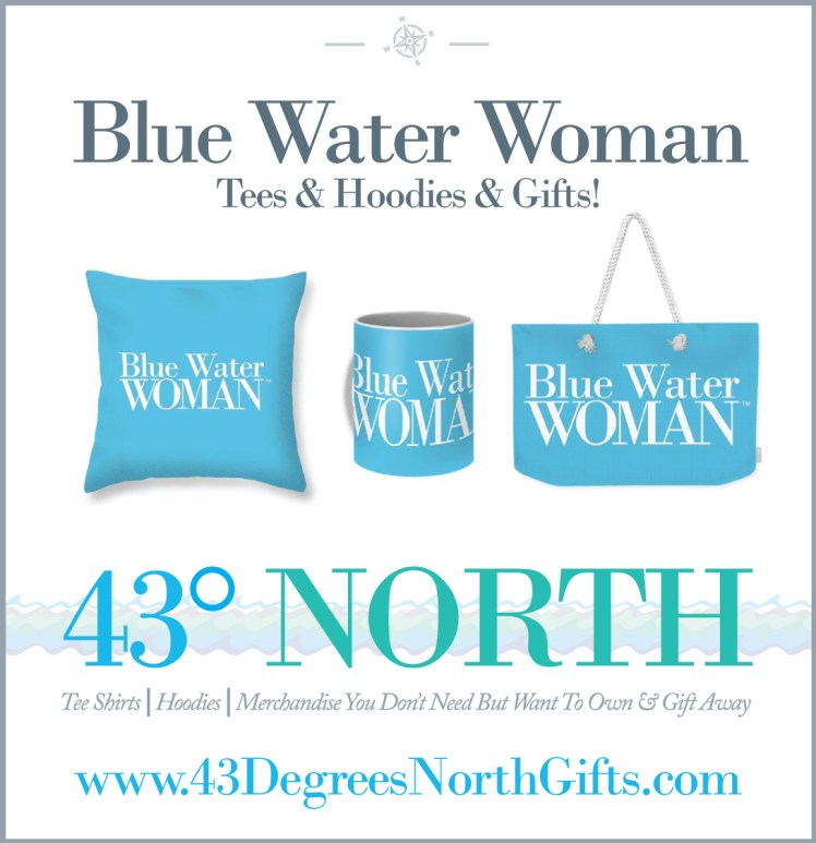 3625 x 375 ad--43 degrees north gifts--blue water woman--GIFTS