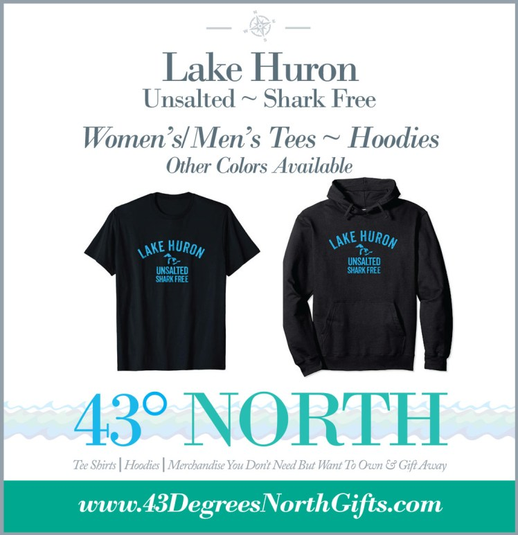3625 x 375 ad--43 degrees north--GIFTS--Lake Huron Unsalted degr