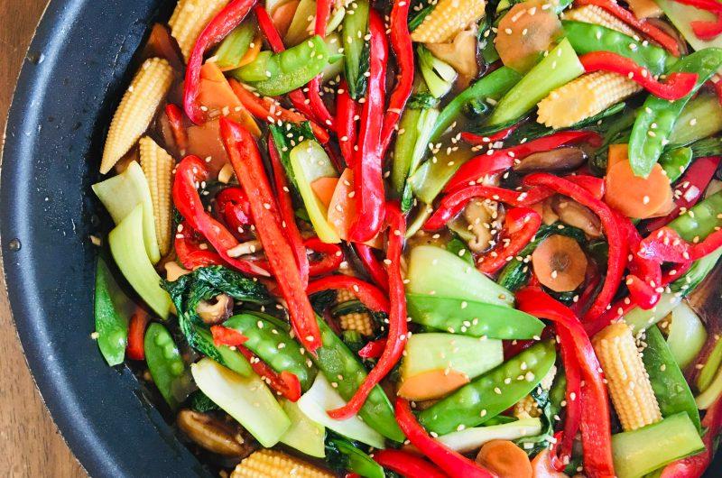 色とりどり野菜炒め