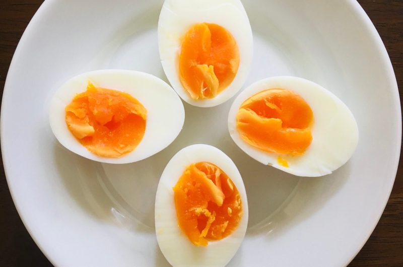 しっとり完璧なゆで卵の作り方