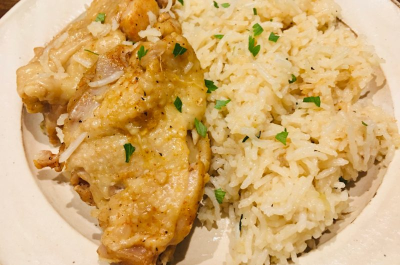 Instant Pot 鶏肉の炊き込みライス