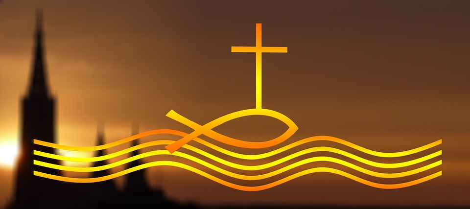 The divine fish - symbol of Christ