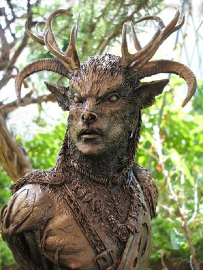 "Horned God - ""Cernunnos"" by Neil Sims"