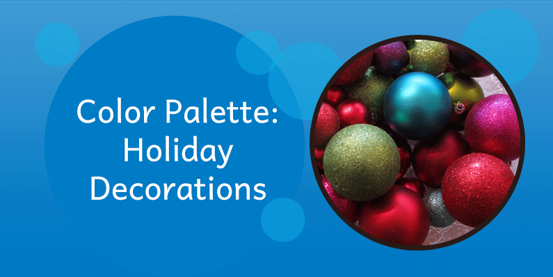 Color Palettes Holiday Decorations