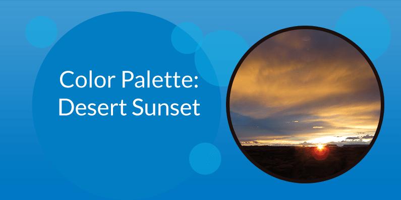 Color Palette: Desert Sunset