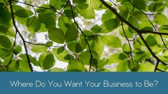 Where Do You Want Your Business to Be?