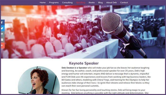 Deb Deaton International Website