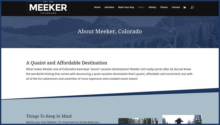 Visit Meeker Website