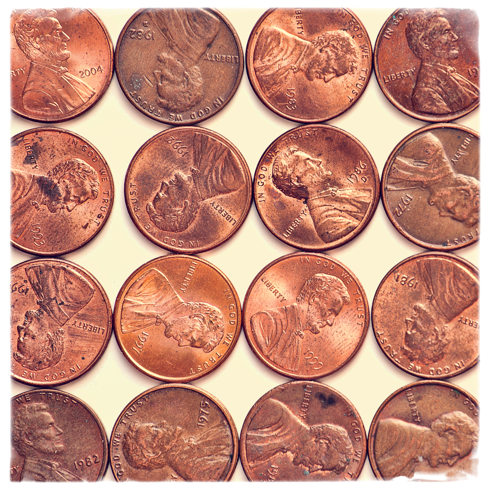 3. Copper Pennies. shutterstock. Discover.