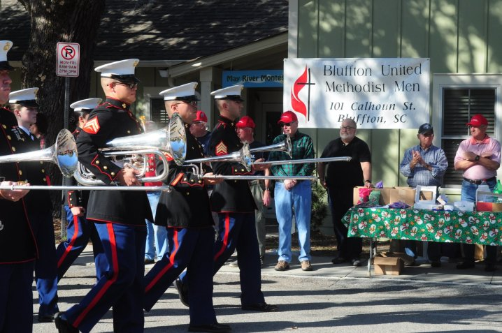 The Parris Island Marine Corp Band