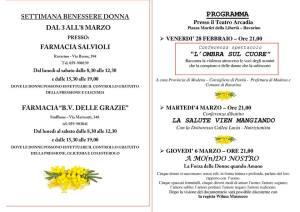 Locandina A Mondo Nostro Ravarino marzo2014