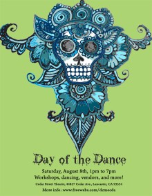 Day of the Dance 2009, Middle Eastern Culture and Dance Association, MECDA | Poster by Blume Bauer