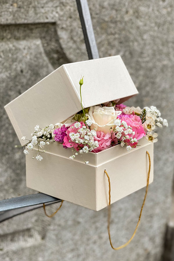 Hochzeitsringe Blumen Zuerich