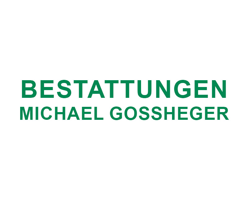 Bestattungen Gossheger