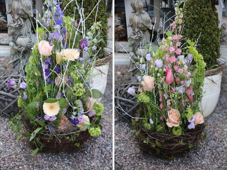 Blumen Trauergesteck Trauerkranz Trauerschmuck Trauerfloristik