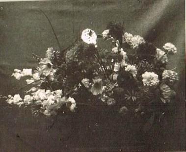 Der erste Blumenkorb