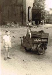 Unser erster Lieferwagen