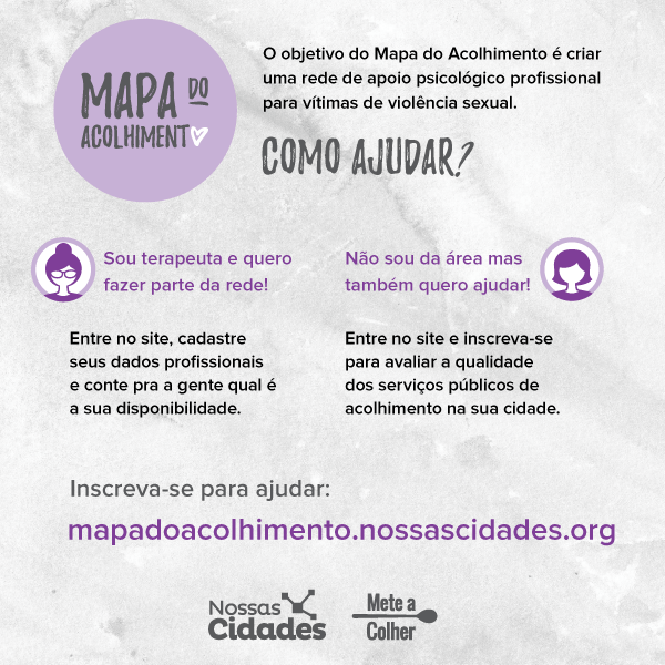 Mapa do Acolhimento