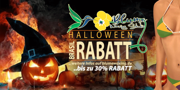 halloween brazil waxing rabatt aktion breit