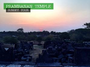 Prambanan Temple - Sunset 2