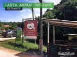 Koh Lanta, Thailand - Lanta Animal Welfare Entrance