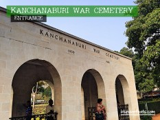 Kanchanaburi War Museum, Thailand - Entrance
