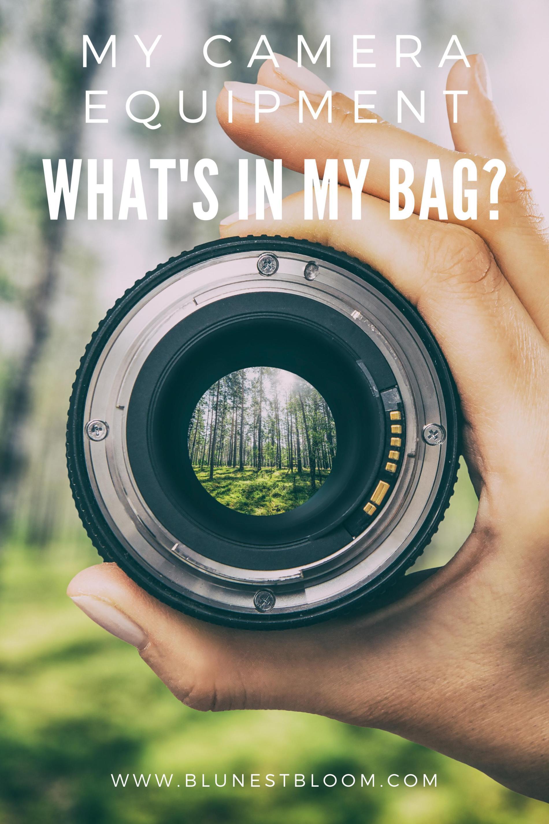 My Camera Equipment