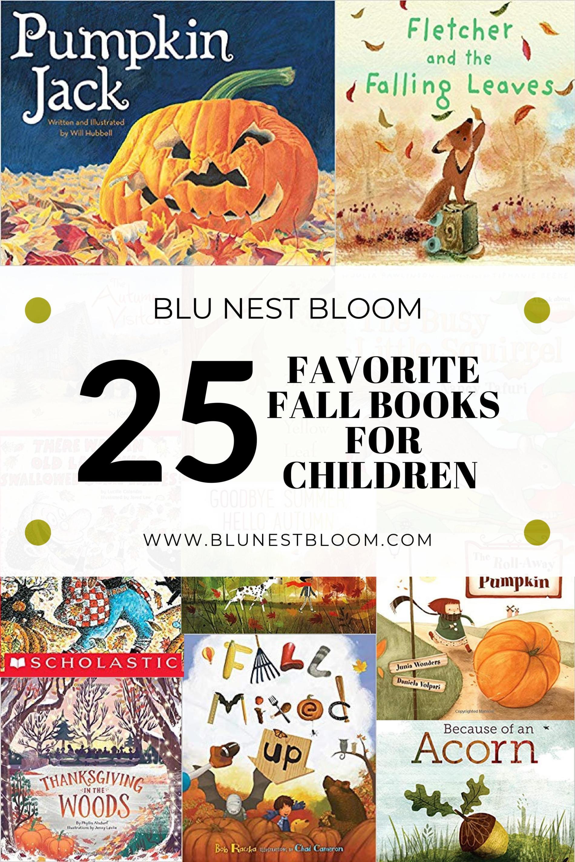 Children's Books For Fall