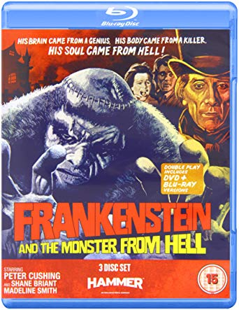 Frankenstein And The Monster From Hell blu ray