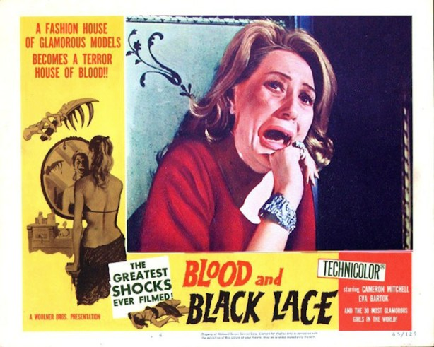 blood and black lace lobby card
