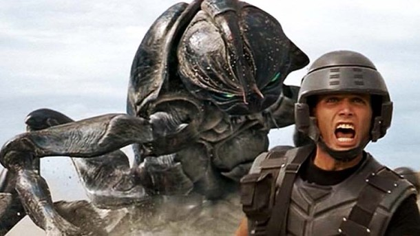 starship troopers blu ray review
