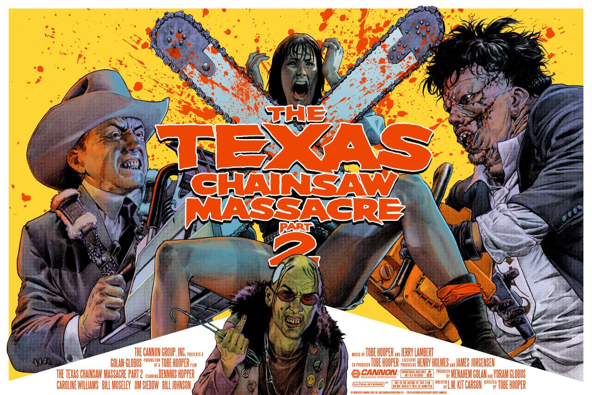 texas chainsaw massacre 2 poster