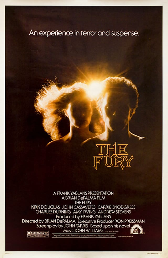 the fury 1978 poster