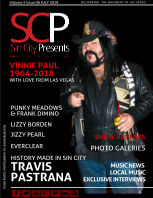 Sin City Presents Magazine July 2018