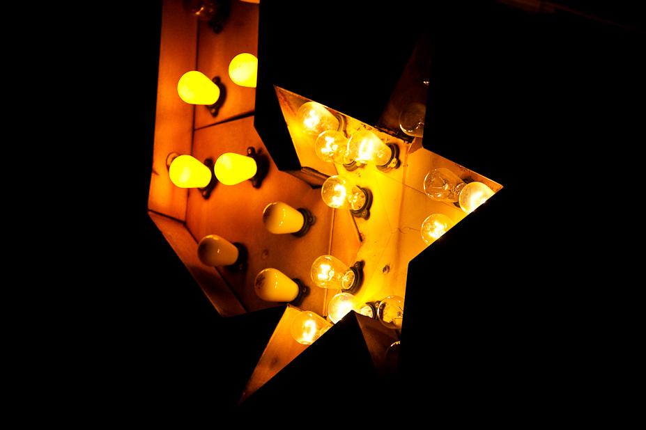 Light Star – Lighted Sign, Austin, Texas