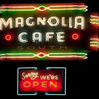 Sorry We're Open [ Magnolia Cafe - Austin, Texas | Blurbomat.com
