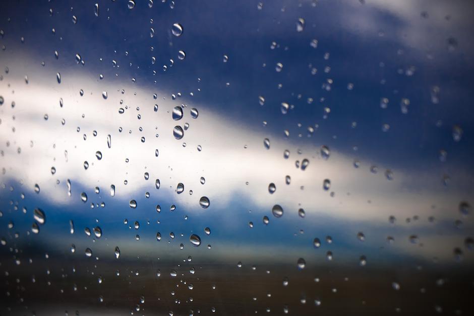 Rain on Plane