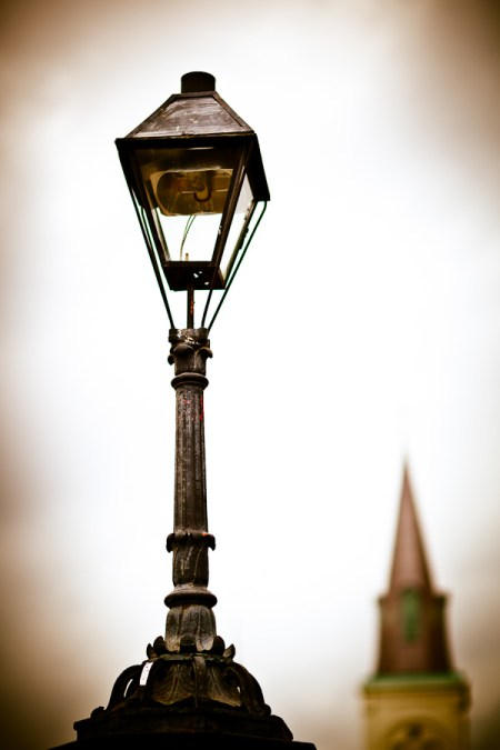 Moody Street Lamp