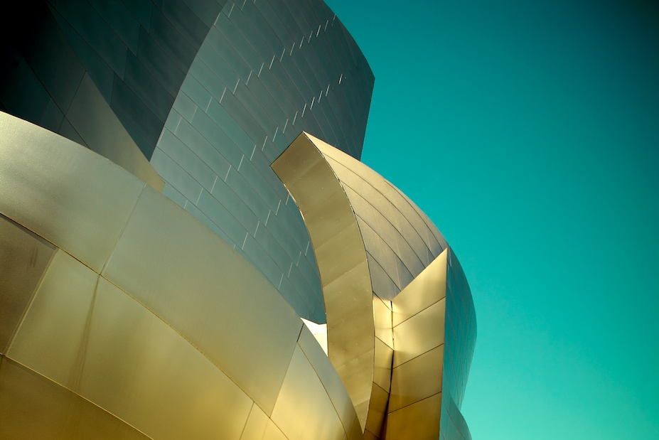 Golden Disney Hall