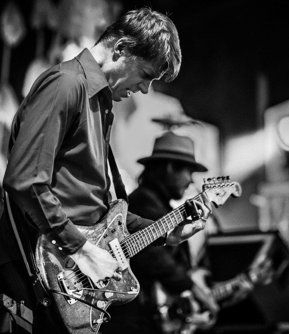 Nels Cline with Wilco at Red Butte