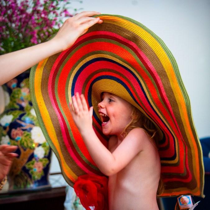 Marlo in a Massive Hat