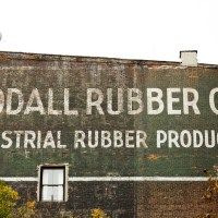 Co. Inc. - Billboard for Goodall Rubber Company, Inc. hand painted on the side of a building in Tribeca, Manhattan. | Blurbomat.com