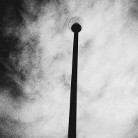 Grainy Light Pole | Blurbomat.com