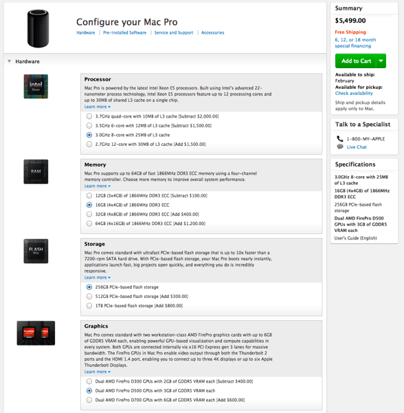 Blurbomat.com - Mac Pro configured
