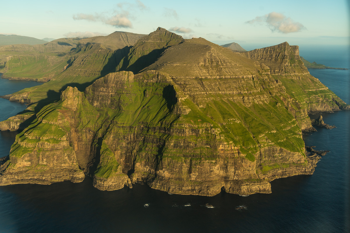 On Approach to Vagar, Faroe Islands
