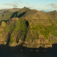 Approaching the airport on Vagar, one of the Faroe Islands. | Blurbomat.com