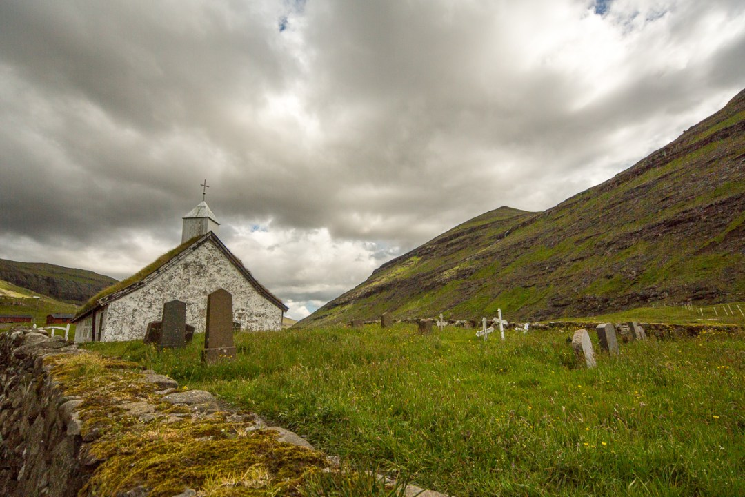 Church at Saksun, Faroe Islands - Blurbomat.com