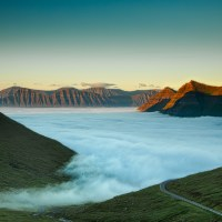 Sea of Fog Above the Actual Sea | Blurbomat.com