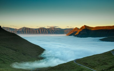 Faroe Islands, Sea of Fog