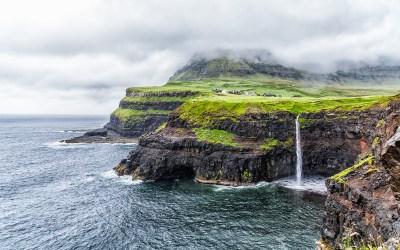 Faroe Islands, Waterfalls